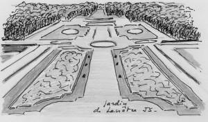 Jardin à la La Française-Lenôtre-Echo 55